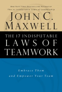 http://www.johnmaxwell.com/store/products/The-17-Indisputable-Laws-of-Teamwork.html